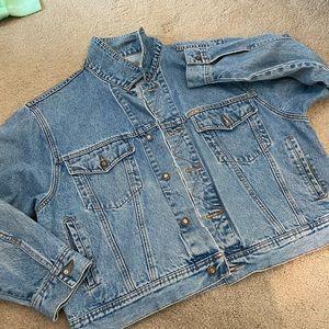 Jean jacket by express!